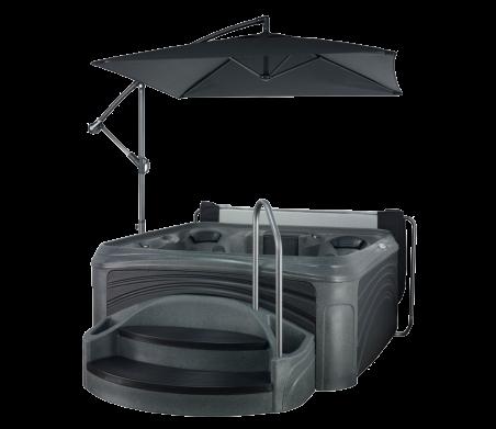 Cabana 2500 in Black Diamond with Black Panels